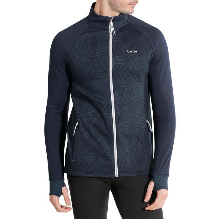 Sous-veste de ski Laine homme 500 Bleue - 978116