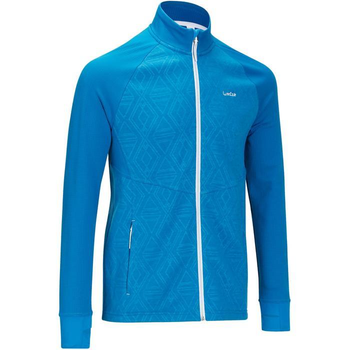 Sous-veste de ski Laine homme 500 Bleue - 978225
