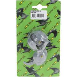 Kunststof maskertje voor duif x2 - 978456