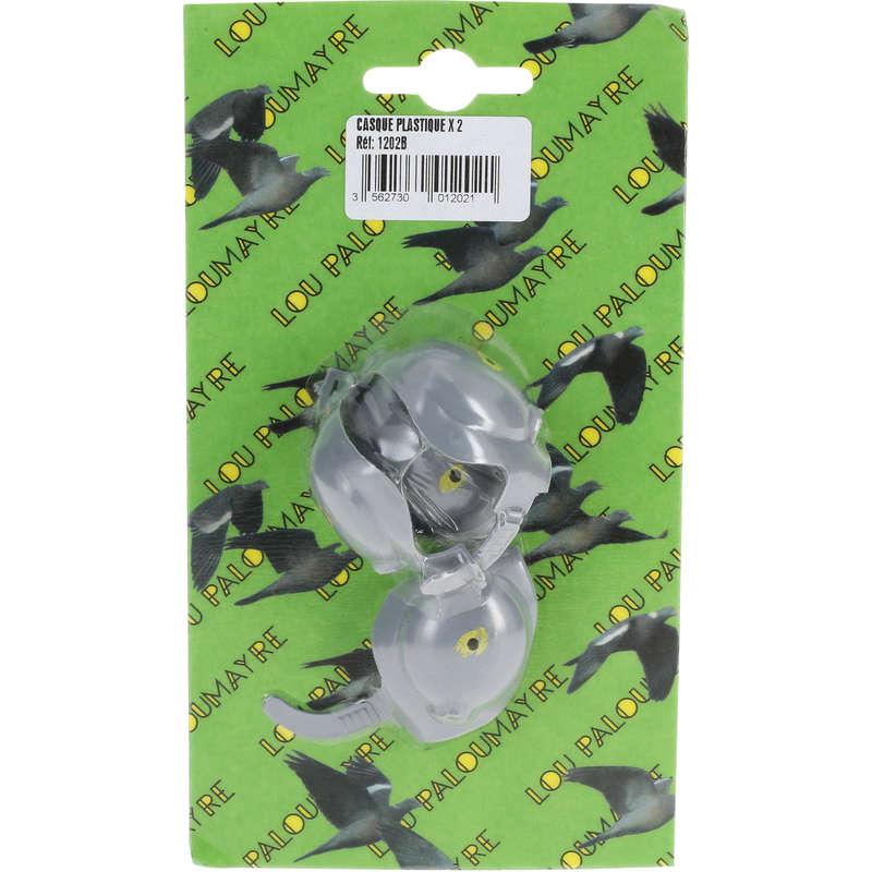 ACCESORII VANATOARE PORUMBEI Vanatoare - Cască Plastic Porumbei X2 SOMACA - Accesorii