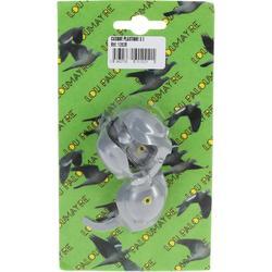 Kunststof duivenkap x2