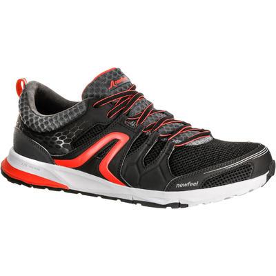 حذاء رجالي للمشي NEWFEEL PROPULSE WALK 240 - أسود/أحمر