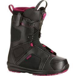Snowboardboots dames Scarlet Quicklock zwart / violet Salomon