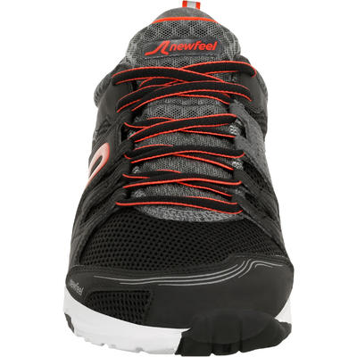 PW 240 Men's Fitness Walking Shoes - Black/Red