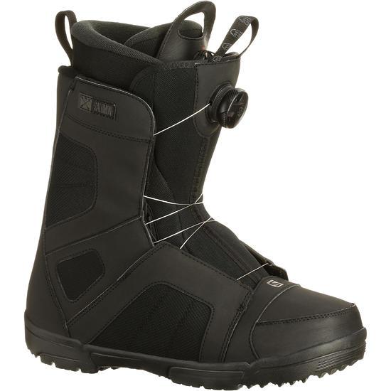 Snowboardschoenen heren Titan Boa® zwart Salomon - 97852