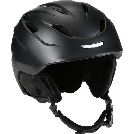 Ski- en snowboard helm volwassenen NINE 10 ZWART - 97897