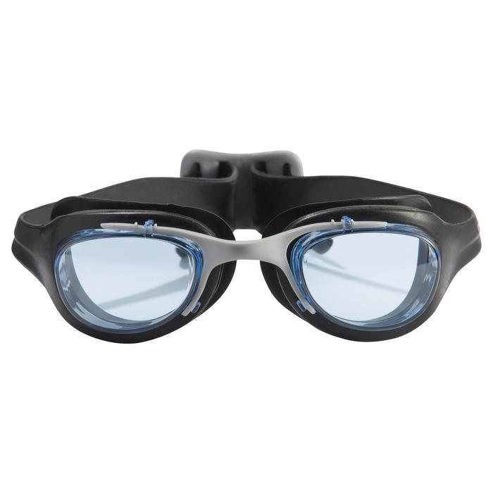 XBASE Swimming Goggles Size L - Black - 980187