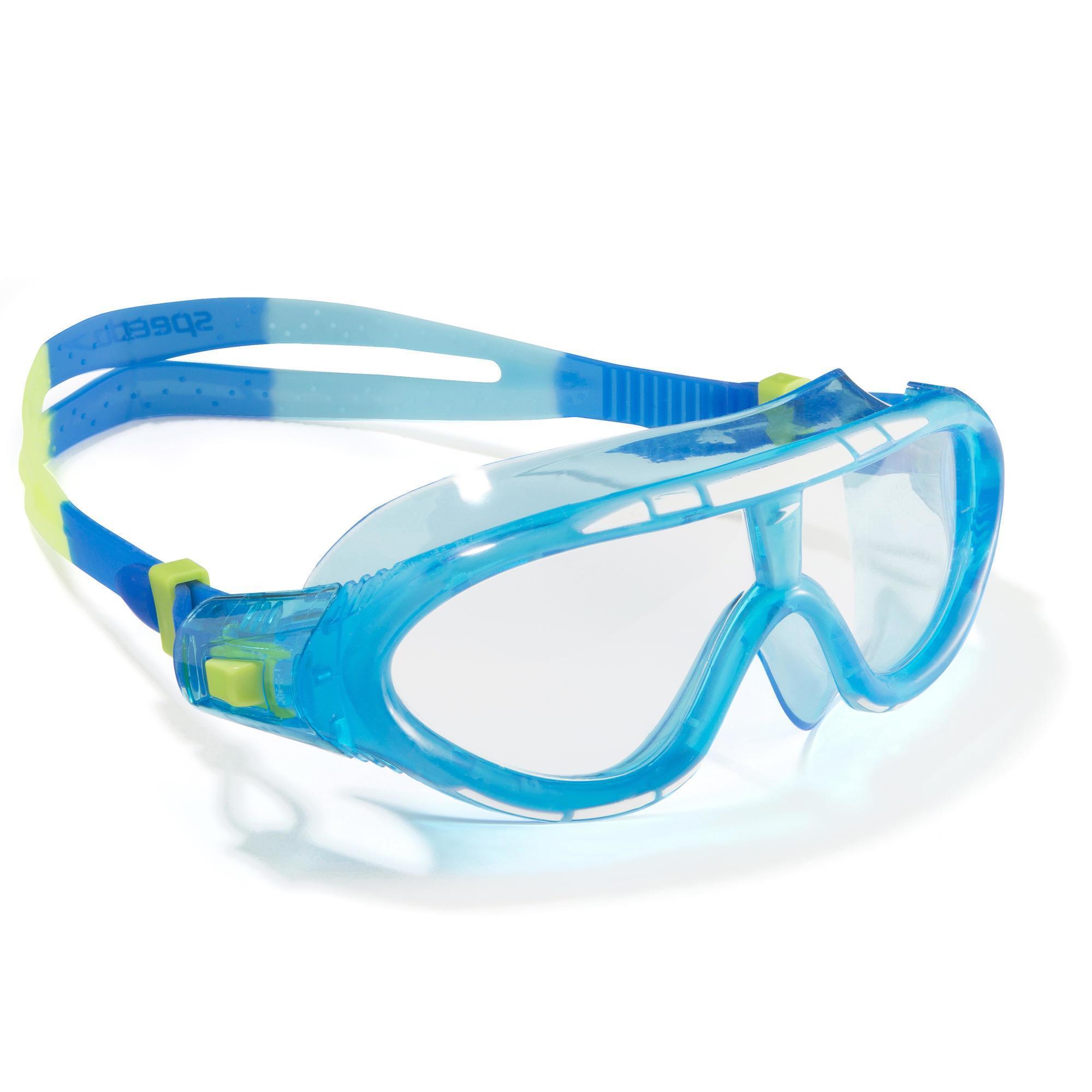 Speedo Zwembril Rift maat S blauw groen