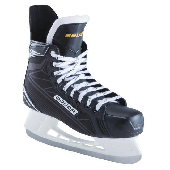 IJshockeyschaatsen voor volwassenen Supreme 140 zwart - 980317
