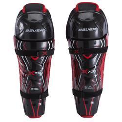 Beenbeschermers Vapor X700 zwart/rood