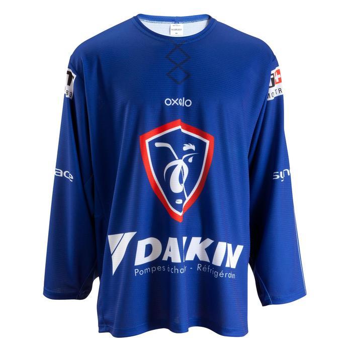 Eishockey-Trikot Frankreich blau