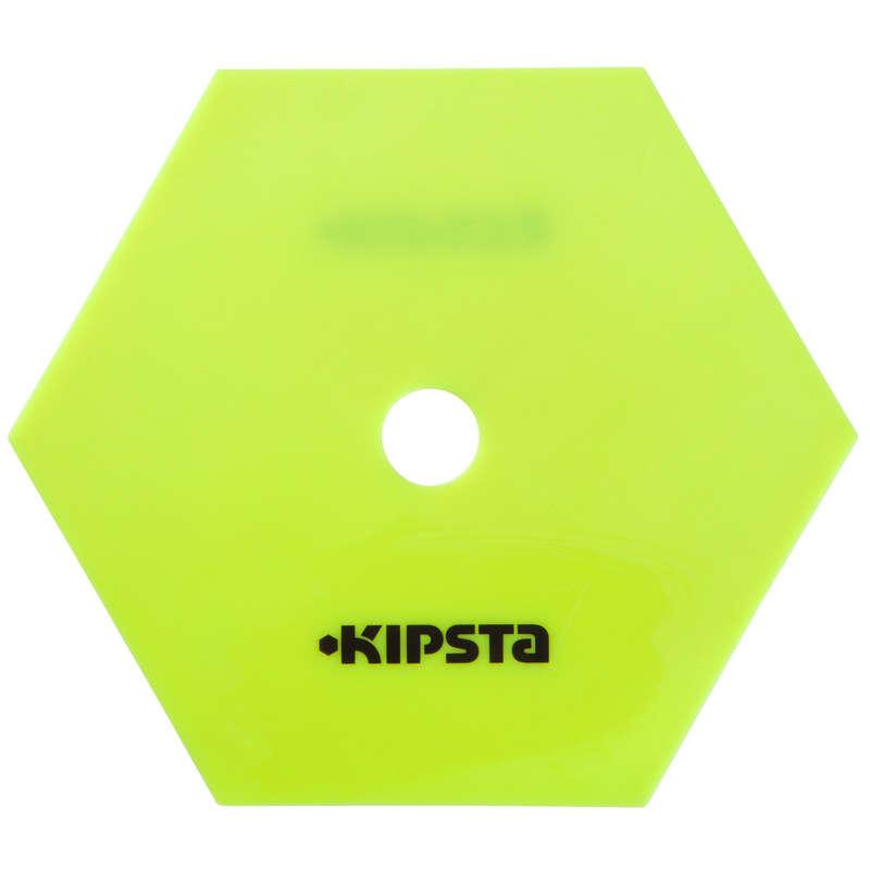 ACCESSORIES TEAM SPORT Piłka nożna - Zestaw 10 płaskich dysków KIPSTA - Sporty drużynowe