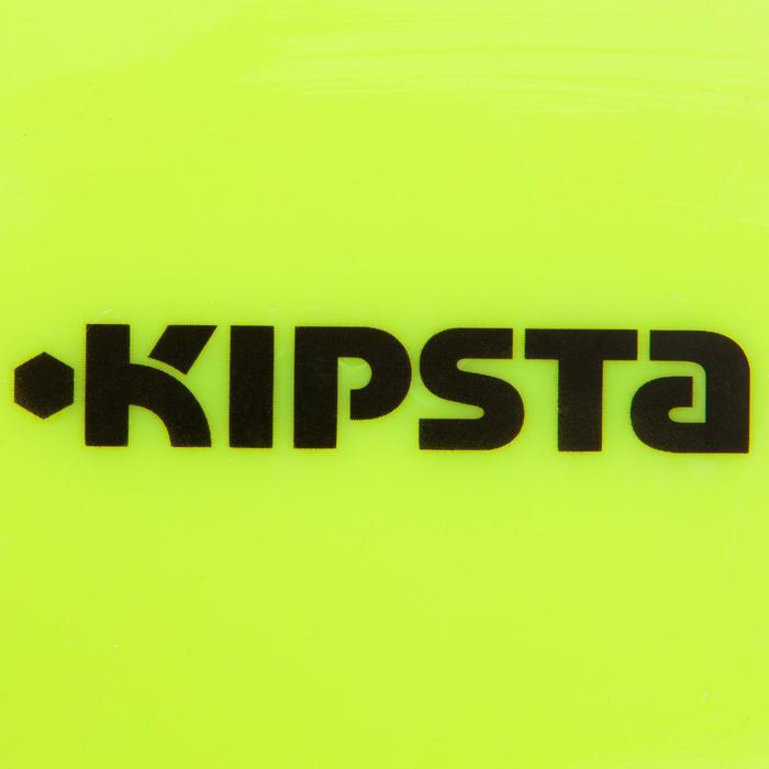 Lote de 10 discos Kipsta hexagonales extra planos amarillo