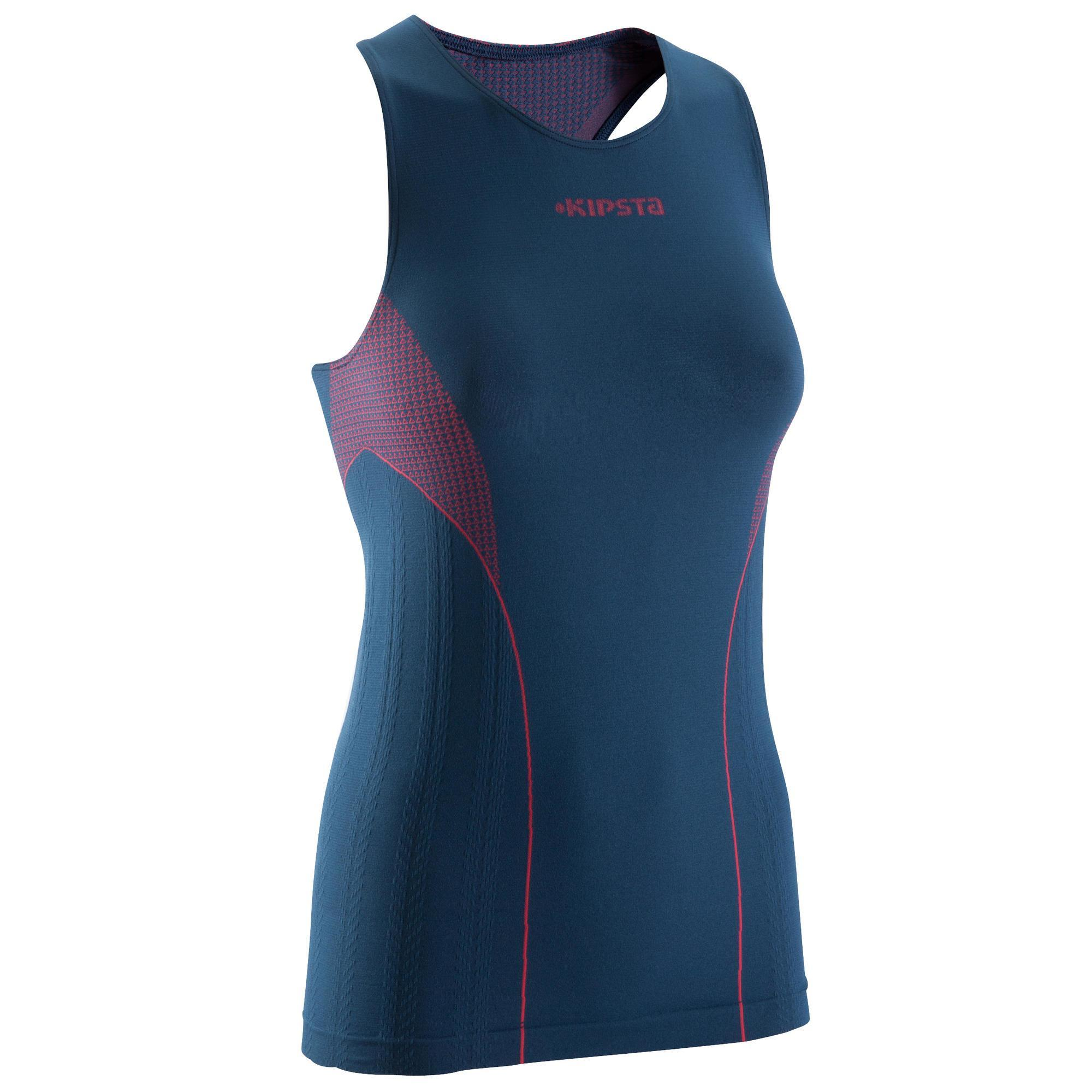 Damen Funktionsshirt Keepdry Damen blau rosa | 03583788317500