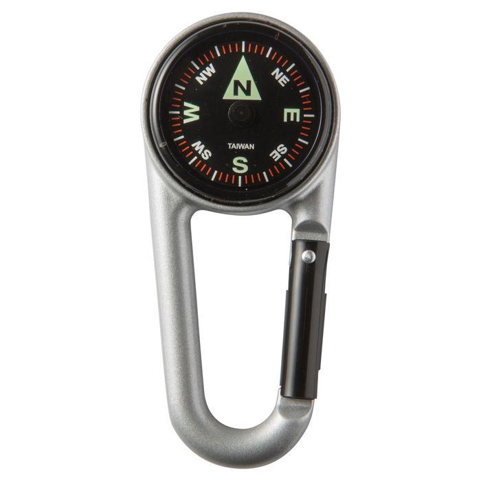 Brújula mosquetón de orientación Compact 50