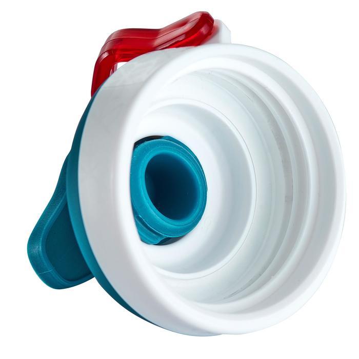 Cantimplora senderismo 500 tapón apertura rápida 0,5 L plástico (Tritan) azul