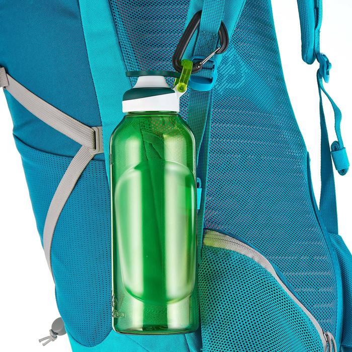 Gourde randonnée 500 bouchon ouverture rapide 0,8 litre plastique (Tritan) - 980701