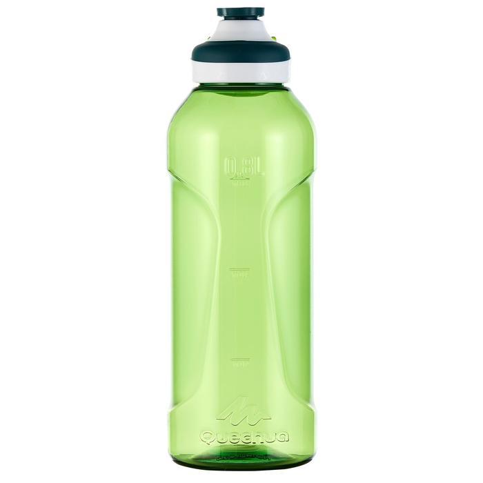 Gourde randonnée 500 bouchon ouverture rapide 0,8 litre plastique (Tritan) - 980712
