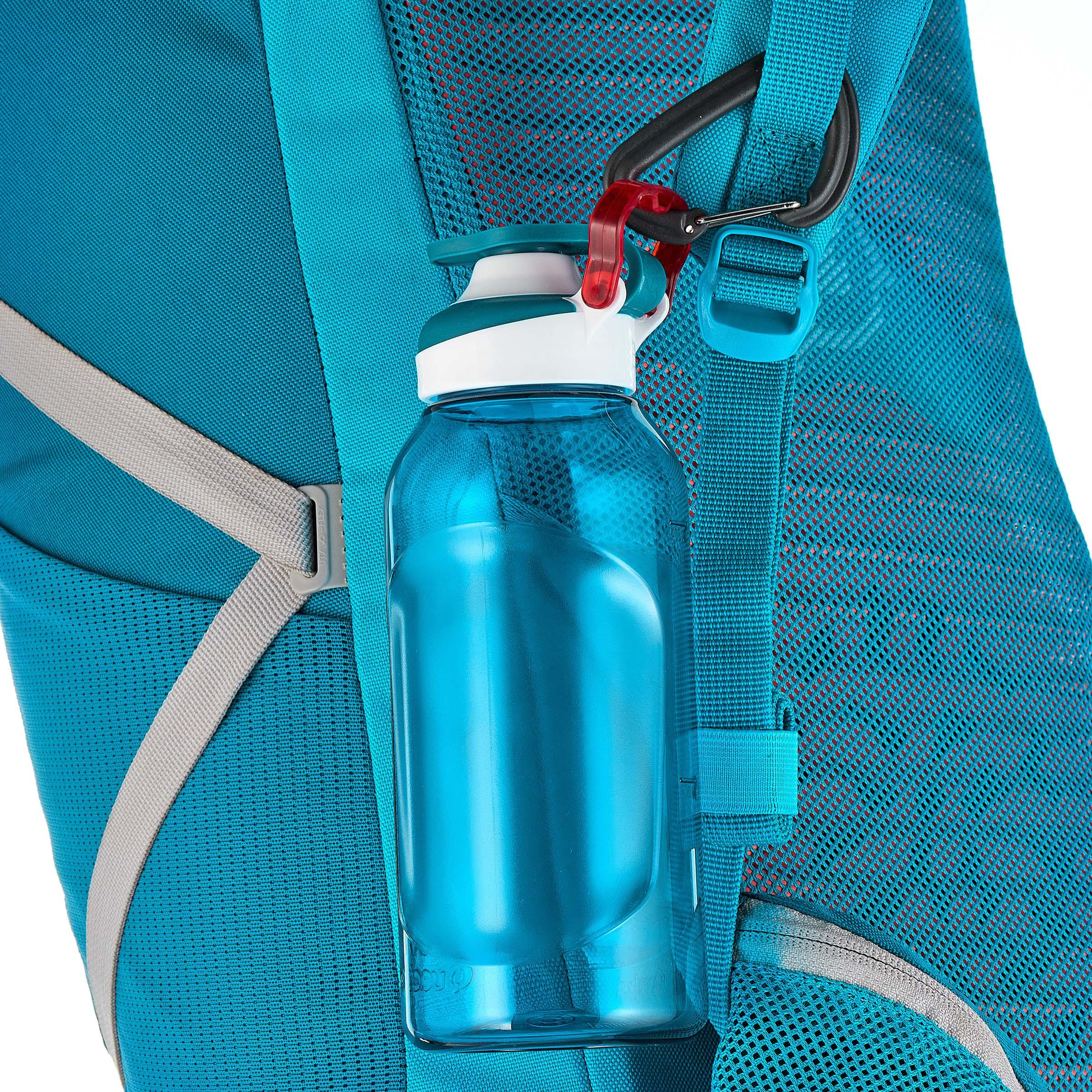Quick-opening plastic (Tritan) 500 Hiking Flask, 0.5 Litre, Blue