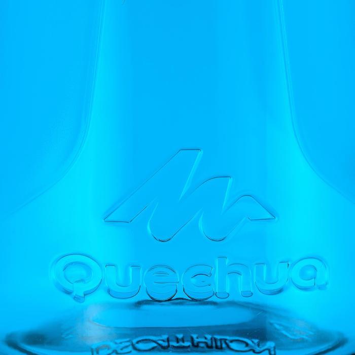 Gourde randonnée 500 bouchon ouverture rapide 0,5 litre plastique (Tritan) - 980716