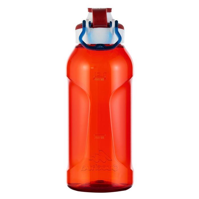 Gourde randonnée 500 bouchon ouverture rapide 0,5 litre plastique (Tritan) - 980721