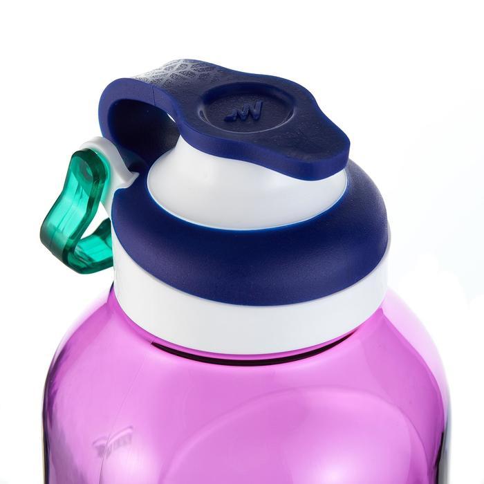 Gourde randonnée 500 bouchon ouverture rapide 0,8 litre plastique (Tritan) - 980722