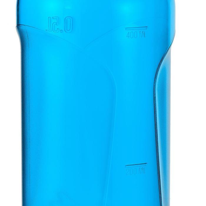 Drinkfles 500 voor wandelen sportdop 0,5 liter kunststof (Tritan) blauw
