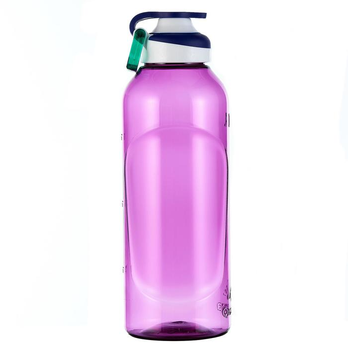 Gourde randonnée 500 bouchon ouverture rapide 0,8 litre plastique (Tritan) - 980725