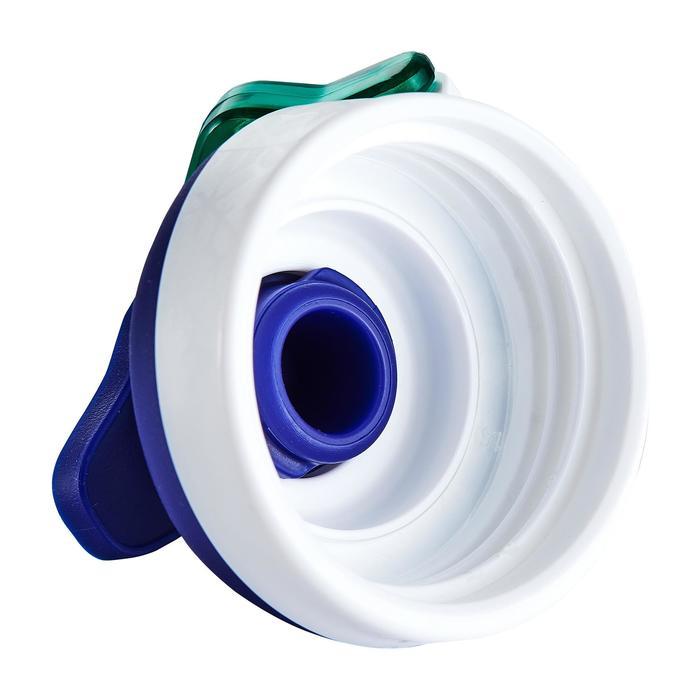 Gourde randonnée 500 bouchon ouverture rapide 0,8 litre plastique (Tritan) - 980726