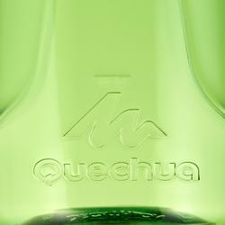 Cantimplora Montaña Quechua 500 Tapón Apertura Rápida 0,8L Plástico(Tritan)Verde