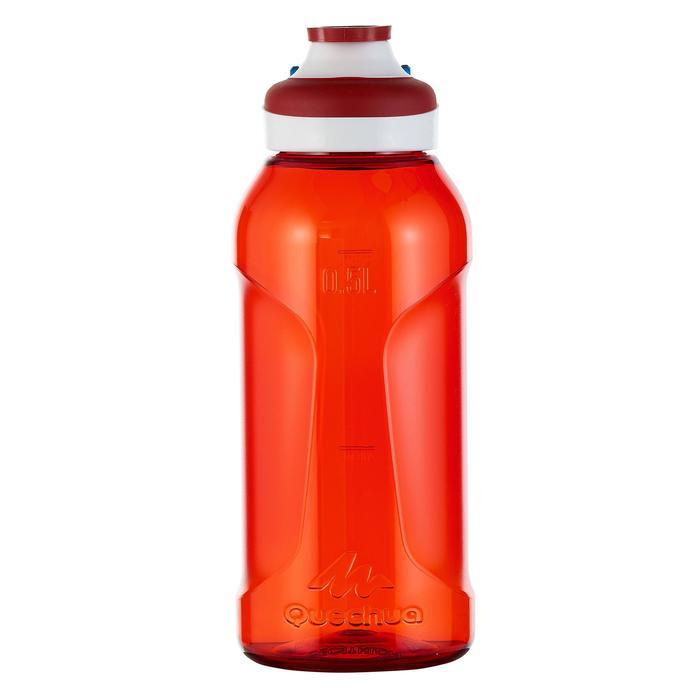 Gourde randonnée 500 bouchon ouverture rapide 0,5 litre plastique (Tritan) - 980729