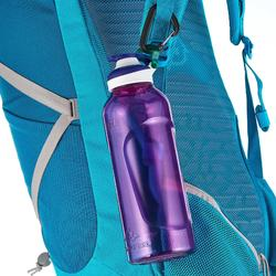 Gourde randonnée 500 bouchon ouverture rapide 0,8 litre plastique Tritan violet