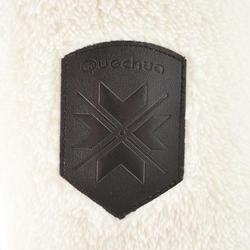 SH100 Ultra-Warm Women's Snow Hiking Fleece Jacket - White