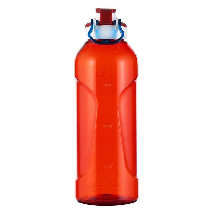 Gourde randonnée 500 bouchon ouverture rapide 0,8 litre plastique (Tritan) - 980796