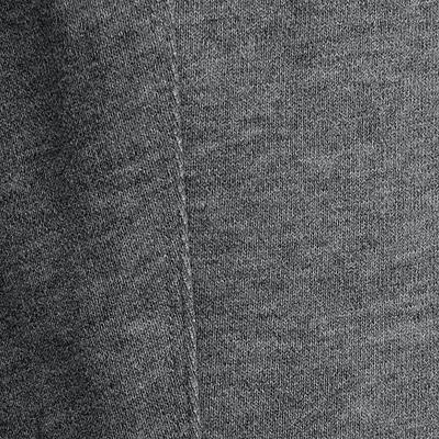 מכנסיים מחממים לכושר לבנים גזרה צמודה- אפור