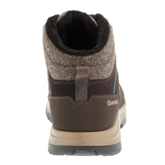 Chaussures de randonnée neige homme SH500 chaudes et imperméables blue - 981059