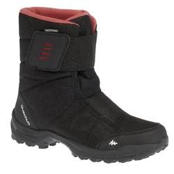 Women's Snow Hiking Boots SH100 X-Warm - Black-Pink