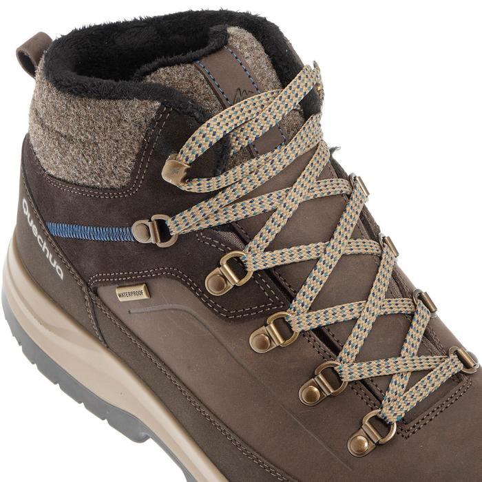Chaussures de randonnée neige homme SH500 chaudes et imperméables blue - 981126