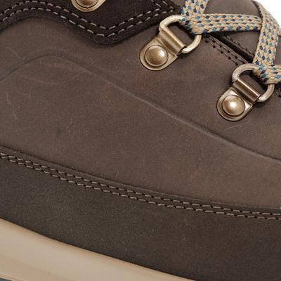 מגפיים חמים לגברים עמידים למים דגם SH500 לטיפוס הרים בתנאי שלג - חום