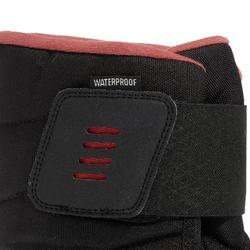 Women's Snow Hiking Boots SH100 X-Warm - Black-Pink