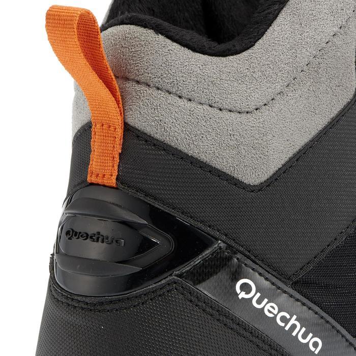 Chaussures de randonnée neige homme SH520 x-warm mid noires. - 981179