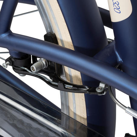 Elops 320 City Bike - Blue