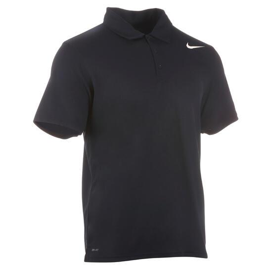 Sportshirt racketsporten net polo heren marineblauw - 982112