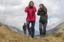 Waterdichte wandeljas voor dames Raincut - 982345