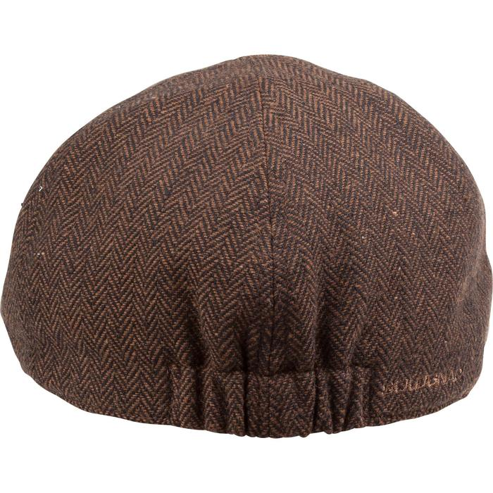 Casquette de chasse tweed plate - 982390