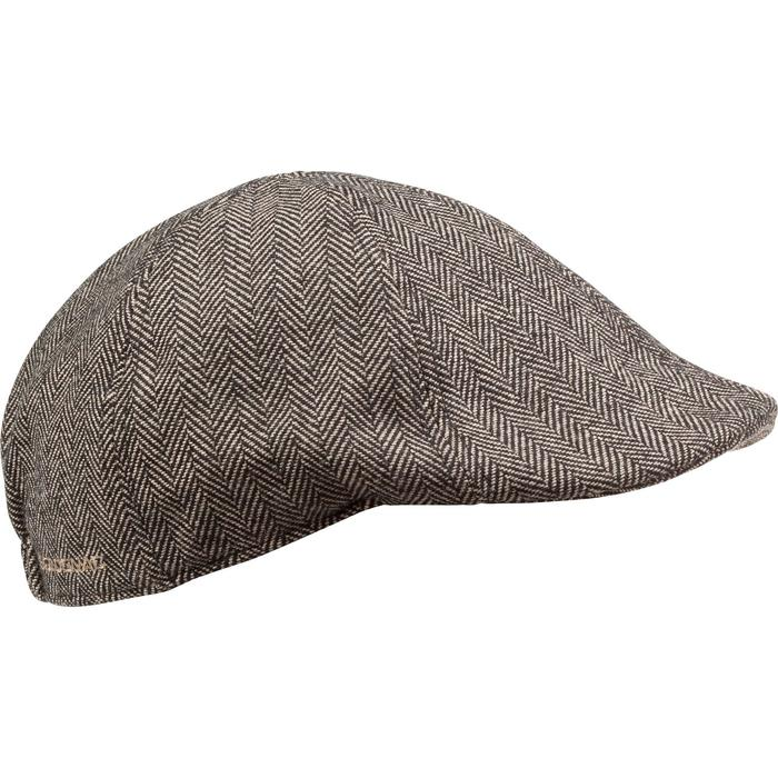Casquette de chasse tweed plate - 982392