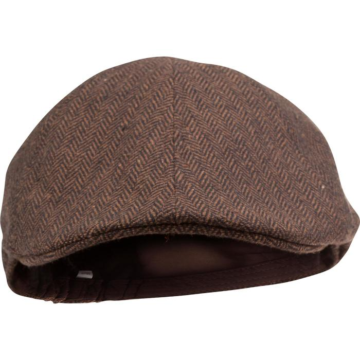 Casquette de chasse tweed plate - 982393