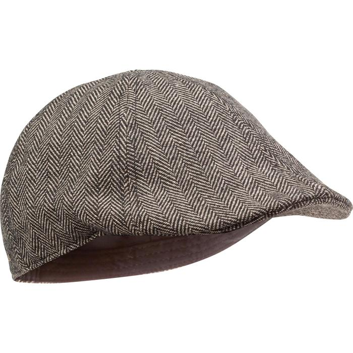 Casquette de chasse tweed plate - 982395
