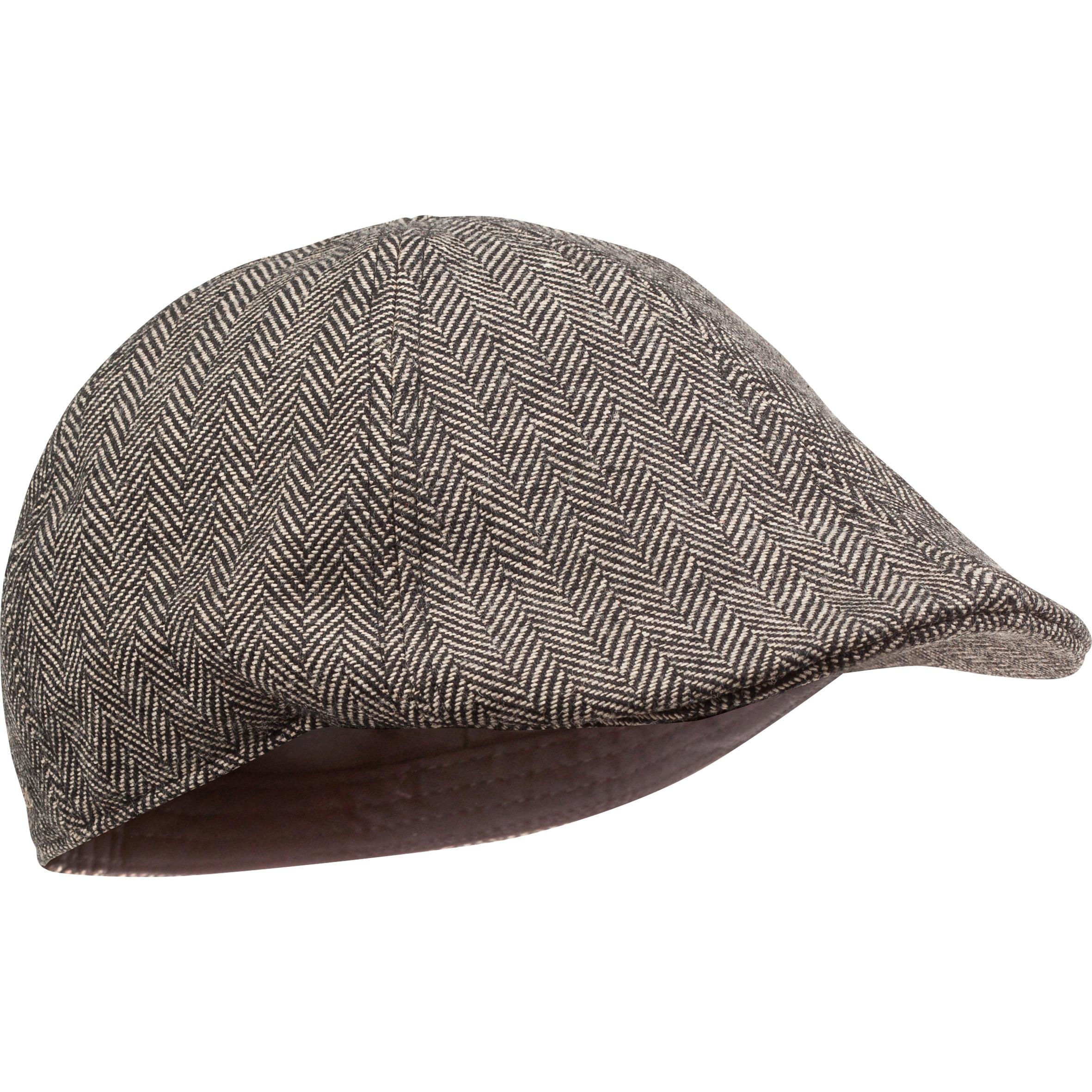 Șapcă Plată Tweed Bej