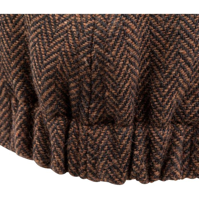 Casquette de chasse tweed plate - 982400